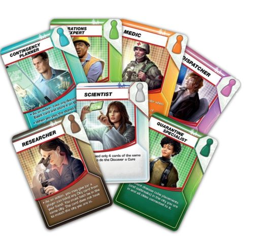 Pandemic Card Closeup