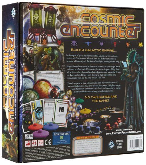 Cosmic Encounter Box Back