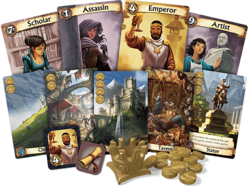 Citadels Cards and Components Official Image
