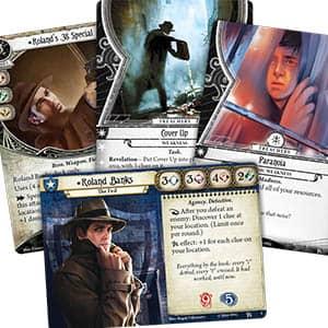 Arkham Horror The Card Game Closeup