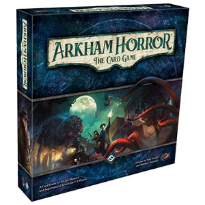 Arkham Horror The Card Game Front Box Cover