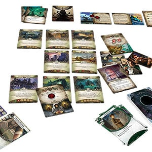 Arkham Horror The Card Game Layout