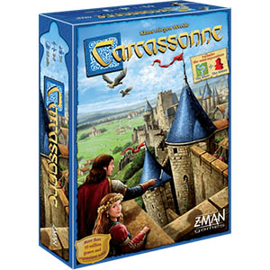 Carcassonne Board Game Box Front