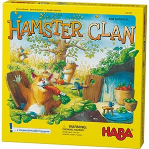 Hamster Clan Board Game Front