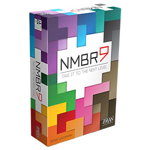 NMBR9 Board Game Front Box Cover