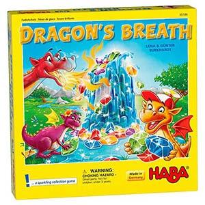 Dragon's Breath Board Game Front Box Cover