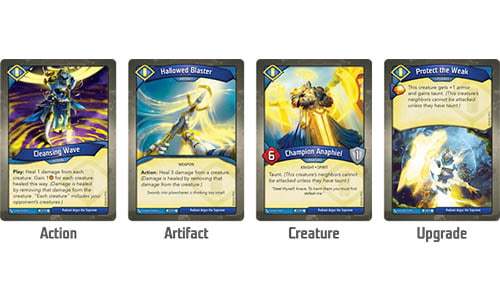 Keyforge Call of the Archons Card Type