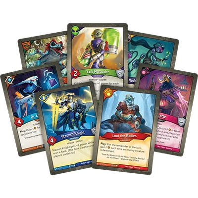 Keyforge Call of the Archons Closeup Cards