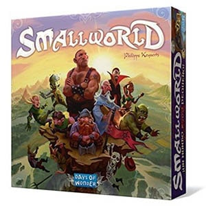 Small World Board Game Front Box Cover