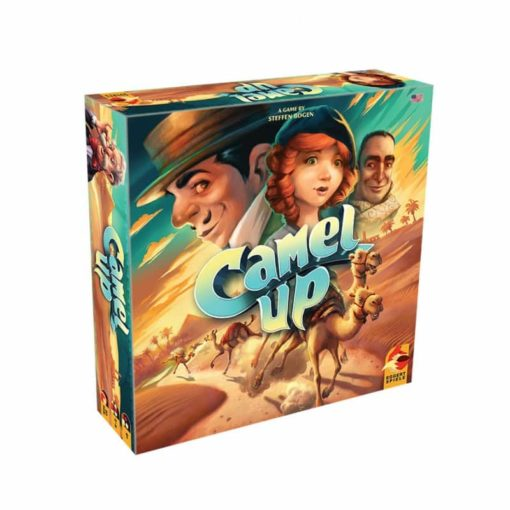 Camel Up Second Edition Board Game Box Cover