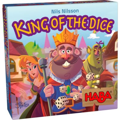 King of the Dice Game Box Front Cover
