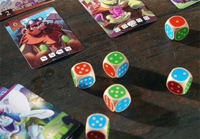 King of the Dice Board Game Dice