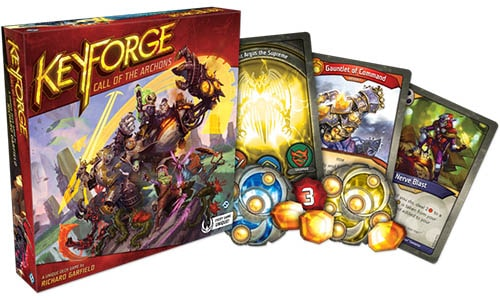 Keyforge Call of the Archons Starter Box Set and Components