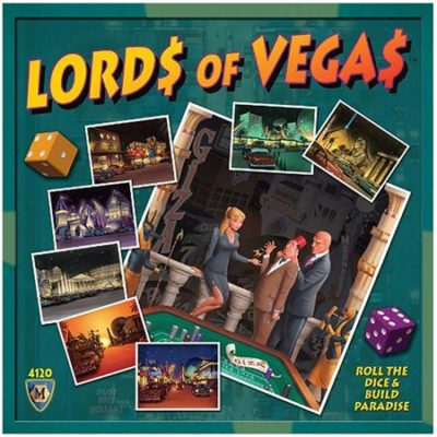 Mayfair Lords of Vegas Board Game Box Cover