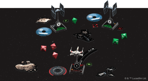 X-Wing Second Edition Core Set Setup