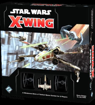 X-Wing 2.0 Second Edition Core Set Board Game Fantasy Flight Games Box Cover