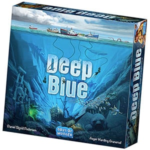 Deep Blue Board Game Days of Wonder Front Cover