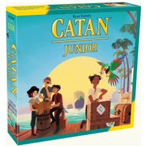 Catan Junior Board Game Front