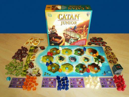 Catan Junior Board Game Layout