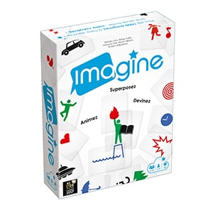 Imagine Front French Card Game