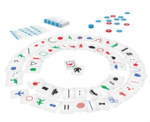 Imagine Layout Card Game French