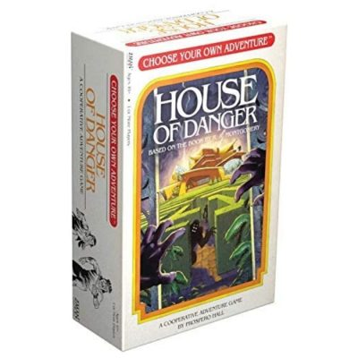 Choose Your Own Adventure House of Danger Game Box Front