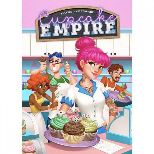 Cupcake Empire Board Game Front Box Cover