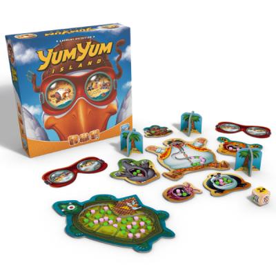 Yum Yum Island Game Box and Layout