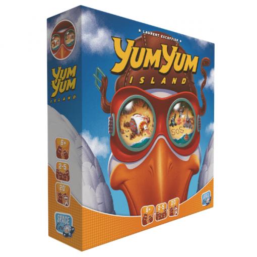 Yum Yum Island Game Box Front
