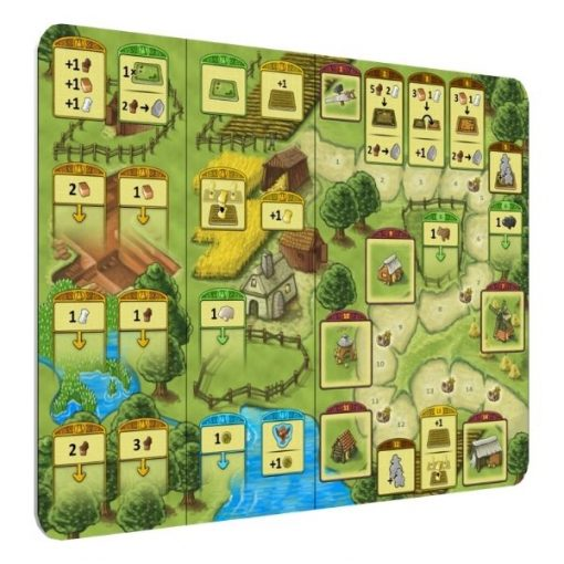 Agricola Family Edition Board