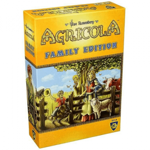 Agricola Family Edition Board Game Box Cover