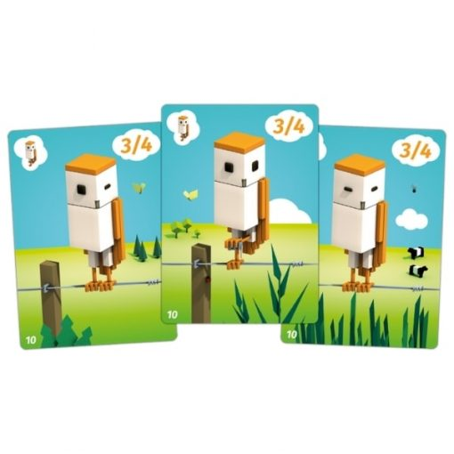CuBirds Card Game Card Closeup