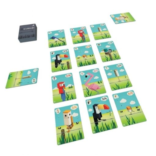 CuBirds Card Game Layout