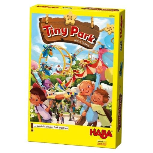 Tiny Park game box front