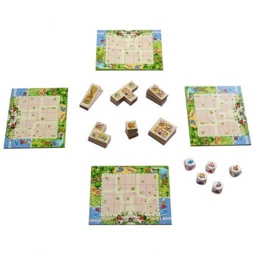 Tiny Park game layout