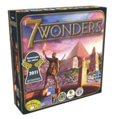 7 Wonders Board Game Front